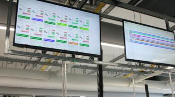 Mit GNT.NET VISIO haben Sie die komplette Produktionskette immer im Blick.
