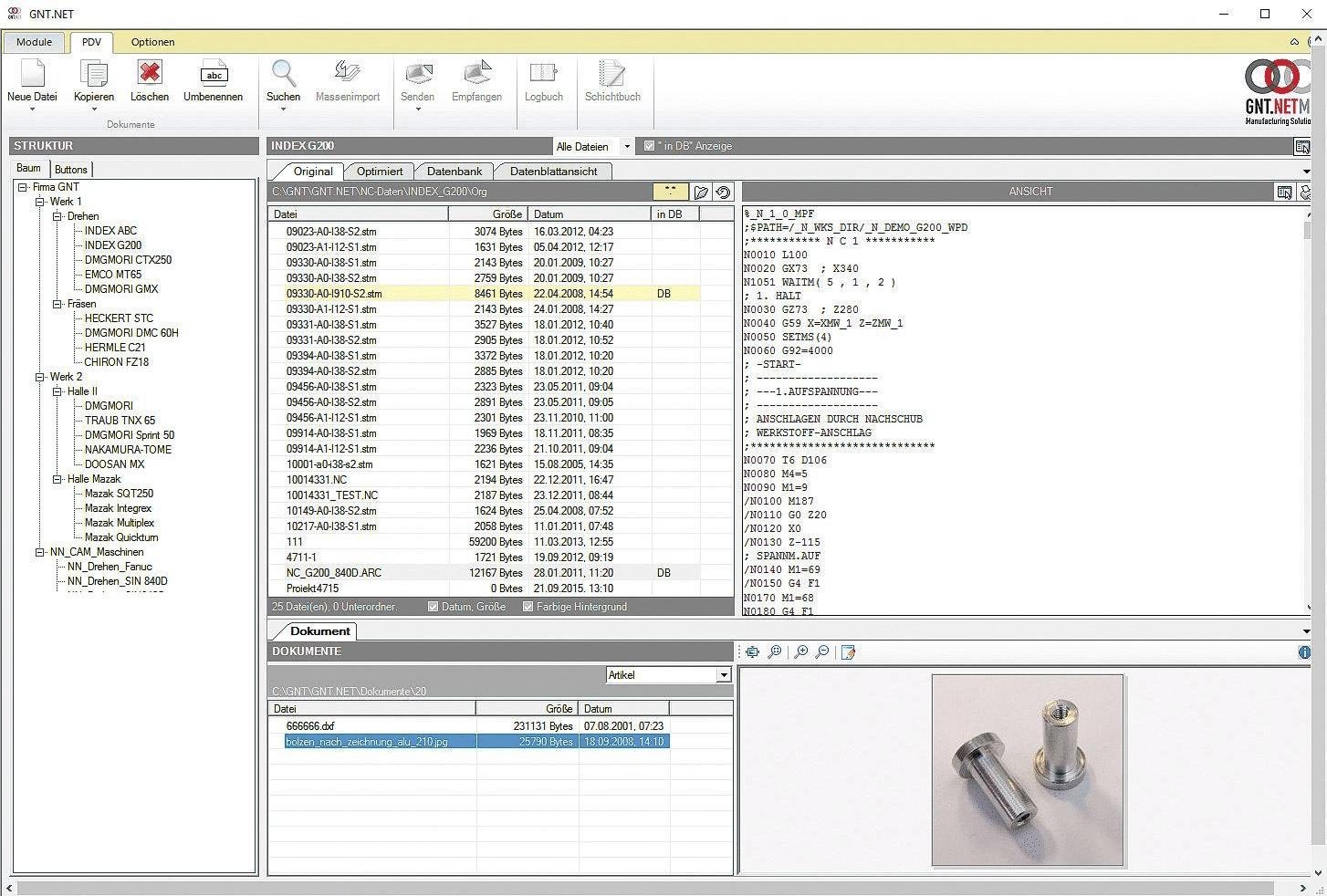 Alle Daten mit PDV-Store im Überblick.