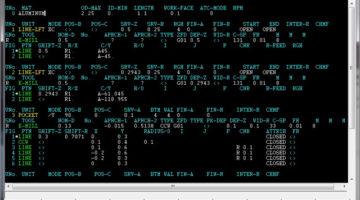 Editor in MazaCAM von GNT Systems.