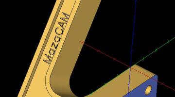 Programmausgabe zu 100% im Mazatrol Format mir MazaCAM von GNT Systems.
