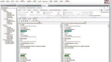Oberfläche der GNT DNC-Software.