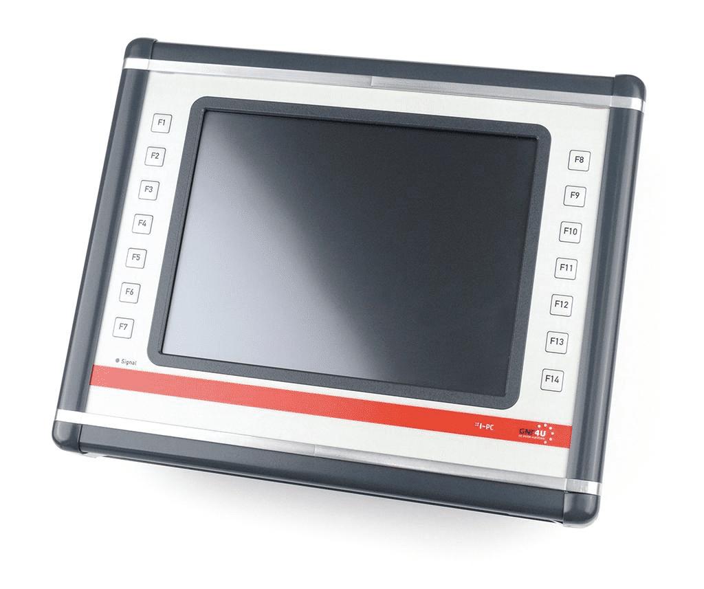 Der Industrie-PC von GNT-Systems.