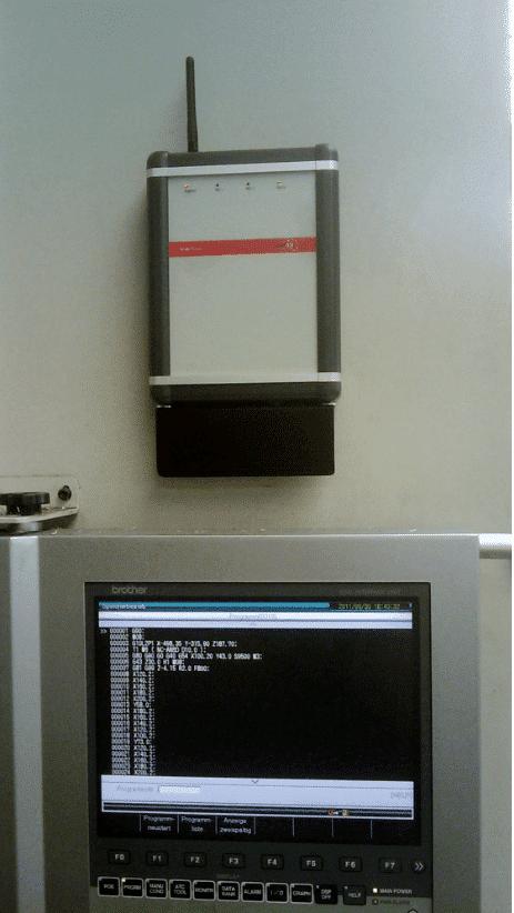 InterTrans als flexibles Terminal zur MDE-Datenübertragung.