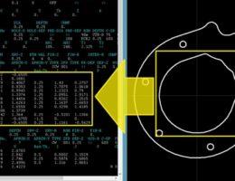 Mazatrol Bearbeitungsprozesse im Editor erstellen, komplexe Konturen abgreifen, sowie Konturen und Bohrungen aus CAD importieren.