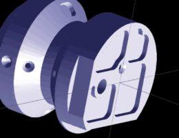 In MazaCAM können sowohl 2D (DXF) als auch 3D (STEP bzw. IGES) Daten direkt verarbeitet werden.