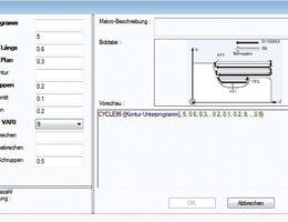 Makroprogrammierung mit NumericNotes von GNT-Systems.