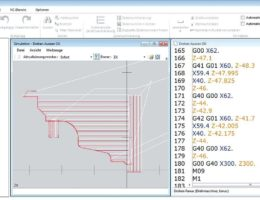 NumericNotes ist ein NC-Editor für alle Bearbeitungsarten: Drehen, Fräsen, Bohren.