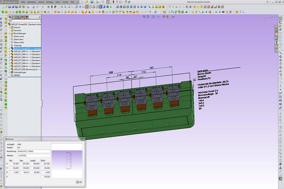 Elektroden - TMS Tool Management Software